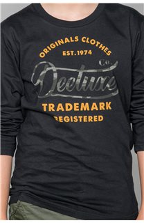 T-Shirt FUJI Garçon W191105B (46360) - DEELUXE