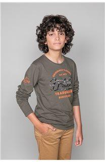 T-Shirt FUJI Garçon W191105B (46361) - DEELUXE
