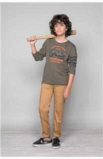 T-Shirt FUJI Garçon W191105B (46362) - DEELUXE