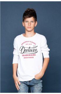 T-Shirt FUJI Garçon W191105B (46366) - DEELUXE