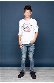 T-Shirt FUJI Garçon W191105B (46367) - DEELUXE