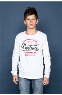 T-Shirt FUJI Garçon W191105B (46368) - DEELUXE