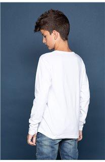 T-Shirt FUJI Garçon W191105B (46369) - DEELUXE