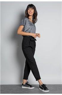 Pantalon PANTALON ROSELINE Femme W19720W (46376) - DEELUXE