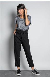 Pantalon PANTALON ROSELINE Femme W19720W (46377) - DEELUXE