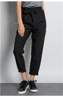 Pantalon PANTALON ROSELINE Femme W19720W (46378) - DEELUXE