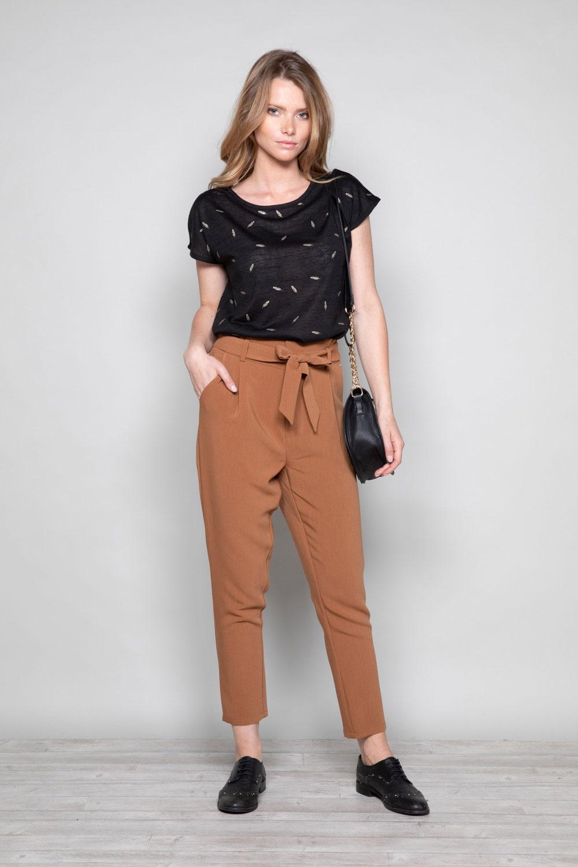 Pantalon PANTALON ROSELINE Femme W19720W (46381) - DEELUXE