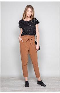 Pantalon PANTALON ROSELINE Femme W19720W (46382) - DEELUXE