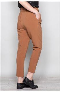 Pantalon PANTALON ROSELINE Femme W19720W (46384) - DEELUXE