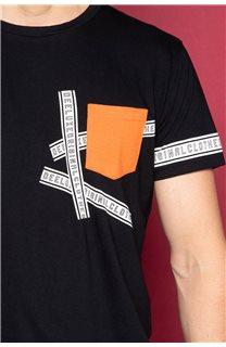 T-Shirt LOAD Homme W191107 (46420) - DEELUXE