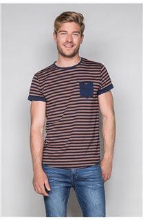 T-Shirt T-SHIRT RANDSTAK Homme W19102 (46441) - DEELUXE