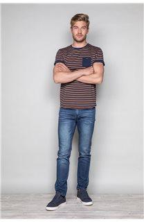 T-Shirt T-SHIRT RANDSTAK Homme W19102 (46442) - DEELUXE