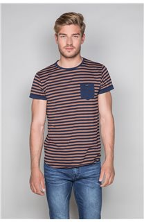 T-Shirt T-SHIRT RANDSTAK Homme W19102 (46443) - DEELUXE