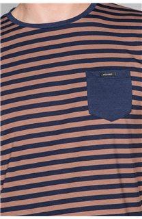 T-Shirt T-SHIRT RANDSTAK Homme W19102 (46445) - DEELUXE