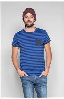 T-Shirt T-SHIRT RANDSTAK Homme W19102 (46446) - DEELUXE
