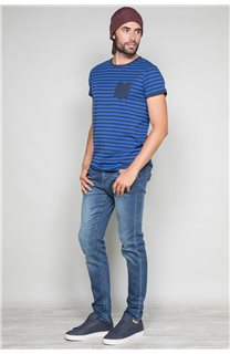 T-Shirt T-SHIRT RANDSTAK Homme W19102 (46447) - DEELUXE