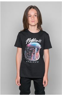 T-Shirt NIGHTCALL Garçon W19158B (46473) - DEELUXE