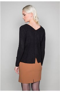 Pull Pull CLAIRE Femme W19315W (46574) - DEELUXE