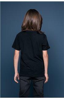 T-Shirt JUST Garçon W19189B (46614) - DEELUXE