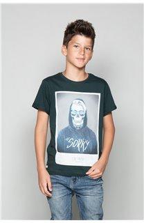 T-Shirt T-Shirt JUST Garçon W19189B (46616) - DEELUXE