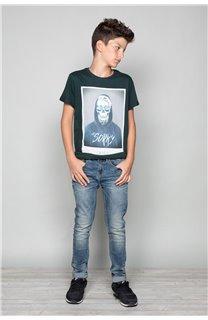 T-Shirt JUST Garçon W19189B (46617) - DEELUXE
