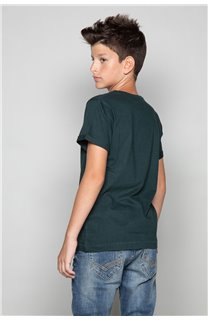 T-Shirt JUST Garçon W19189B (46619) - DEELUXE