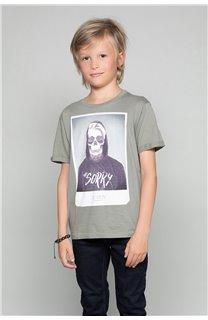 T-Shirt T-Shirt JUST Garçon W19189B (46621) - DEELUXE