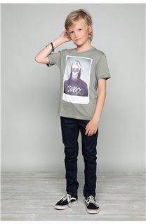 T-Shirt JUST Garçon W19189B (46622) - DEELUXE