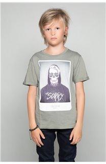 T-Shirt JUST Garçon W19189B (46623) - DEELUXE
