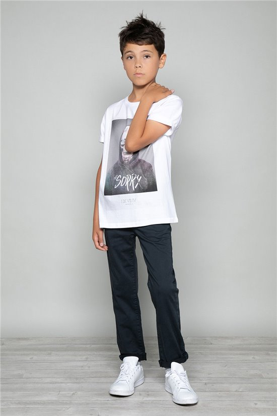 T-Shirt JUST Garçon W19189B (46626) - DEELUXE