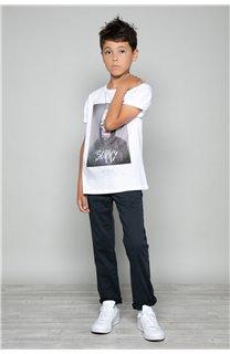 T-Shirt JUST Garçon W19189B (46627) - DEELUXE