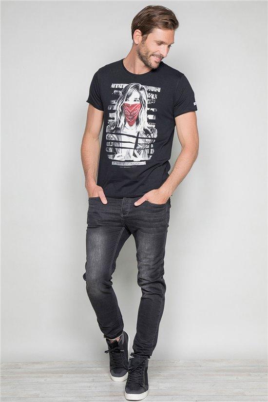 T-Shirt T-SHIRT BONNIE Homme W19182 (46691) - DEELUXE