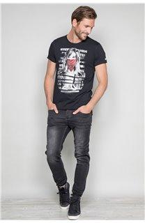 T-Shirt T-SHIRT BONNIE Homme W19182 (46692) - DEELUXE