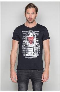 T-Shirt T-SHIRT BONNIE Homme W19182 (46693) - DEELUXE