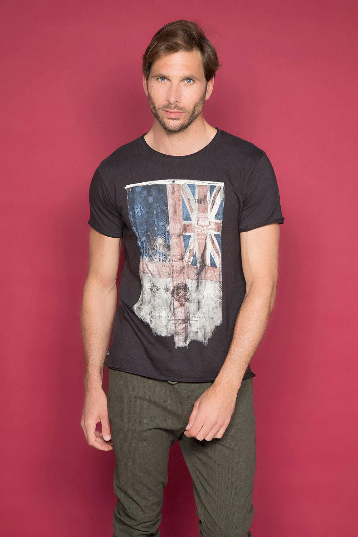 T-Shirt T-SHIRT FLAGY Homme W191110 (46711) - DEELUXE