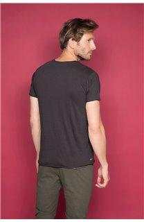 T-Shirt T-SHIRT FLAGY Homme W191110 (46714) - DEELUXE