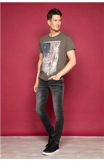 T-Shirt T-SHIRT FLAGY Homme W191110 (46717) - DEELUXE