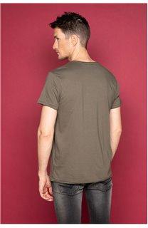 T-Shirt T-SHIRT FLAGY Homme W191110 (46719) - DEELUXE