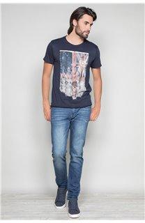 T-Shirt T-SHIRT FLAGY Homme W191110 (46722) - DEELUXE