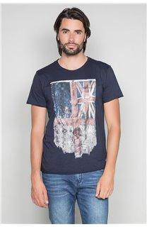 T-Shirt T-SHIRT FLAGY Homme W191110 (46723) - DEELUXE