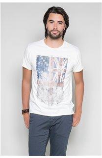 T-Shirt T-SHIRT FLAGY Homme W191110 (46726) - DEELUXE