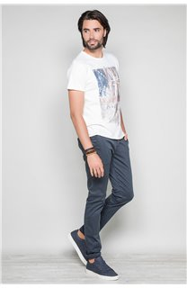 T-Shirt T-SHIRT FLAGY Homme W191110 (46727) - DEELUXE