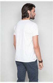 T-Shirt T-SHIRT FLAGY Homme W191110 (46729) - DEELUXE