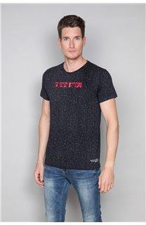T-Shirt GALAXIE Homme W19143 (46733) - DEELUXE