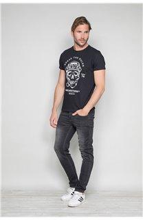 T-Shirt T-SHIRT INGENIOUS Homme W191111 (46737) - DEELUXE