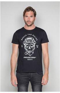 T-Shirt T-SHIRT INGENIOUS Homme W191111 (46738) - DEELUXE