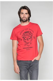 T-Shirt T-SHIRT INGENIOUS Homme W191111 (46741) - DEELUXE