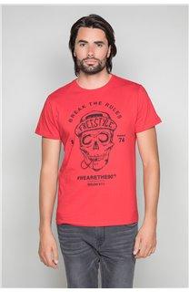 T-Shirt T-SHIRT INGENIOUS Homme W191111 (46743) - DEELUXE