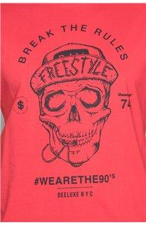 T-Shirt T-SHIRT INGENIOUS Homme W191111 (46745) - DEELUXE