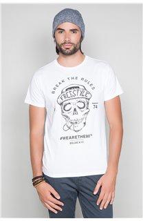 T-Shirt T-SHIRT INGENIOUS Homme W191111 (46748) - DEELUXE
